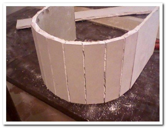 колонна из гипсокартона