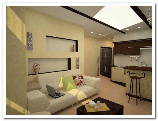стиль квартиры контемпорари