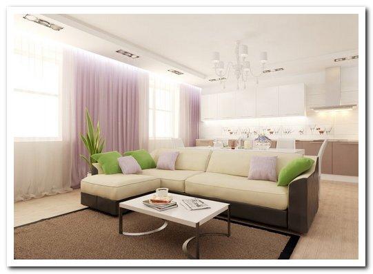 шторы, диваны и подушки