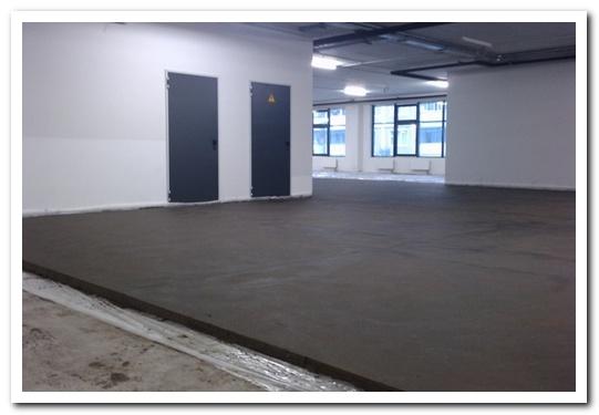 бетонная стяжка пола