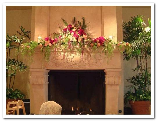 украшение квартиры цветами