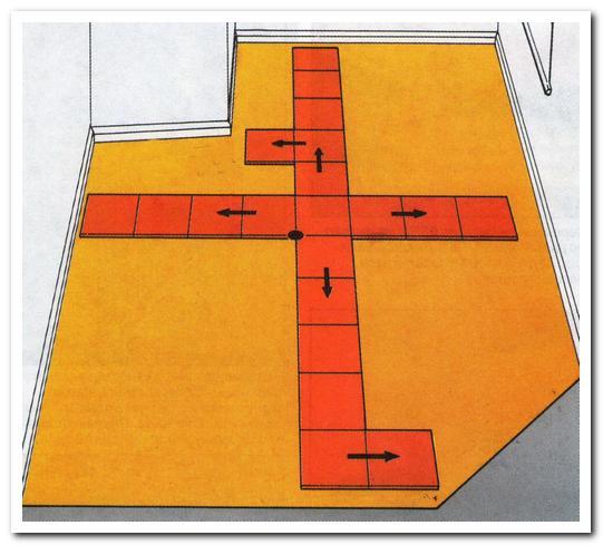 разметка плитки