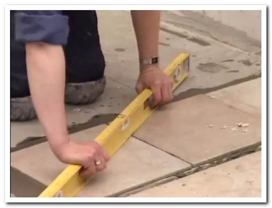как делать укладку плитки