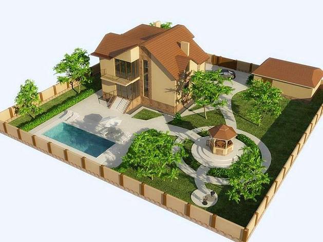 Уютный двор - 60 фото идей - - Во дворе