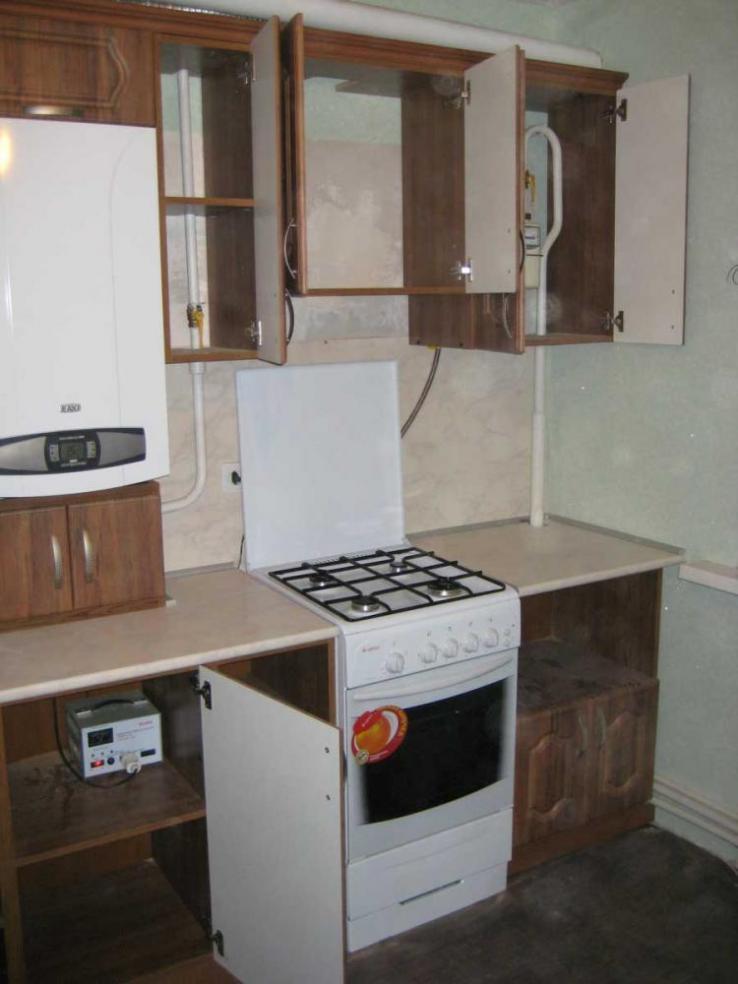 Кухни с газовым котлом дизайн фото