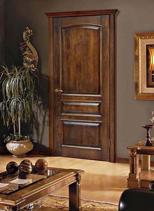 дубовые межкомнатные двери